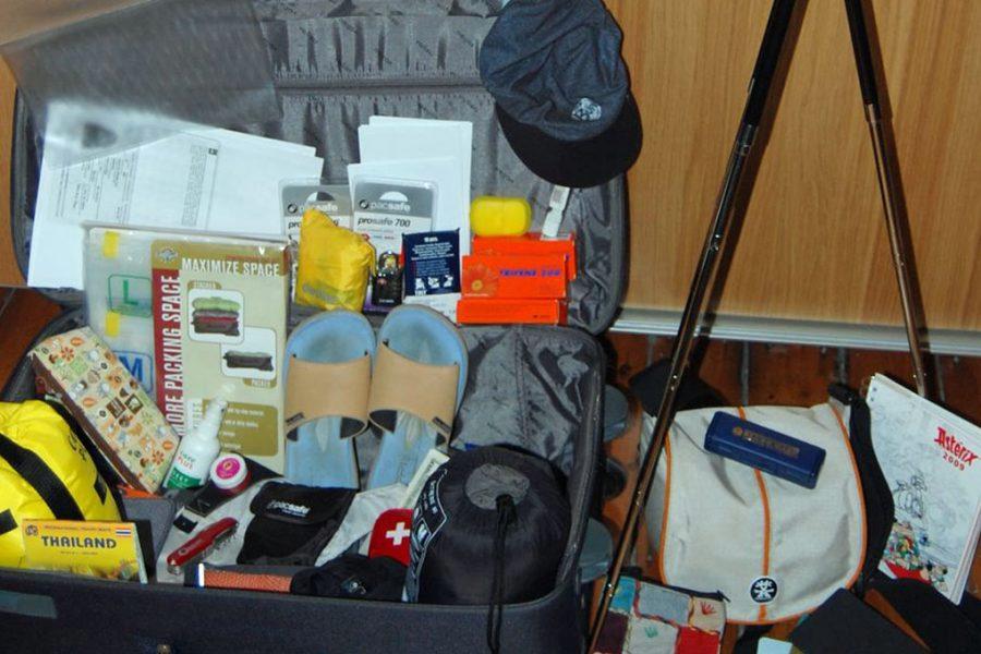 bagagem de viagem