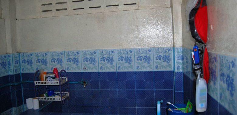 Quarto de banho da casa na Tailândia