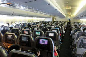 Conforto e segurança a bordo do avião