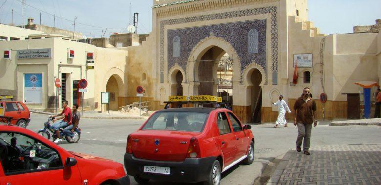 Taxis em Fés, Marrocos