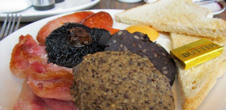 Prato de haggis, Escócia
