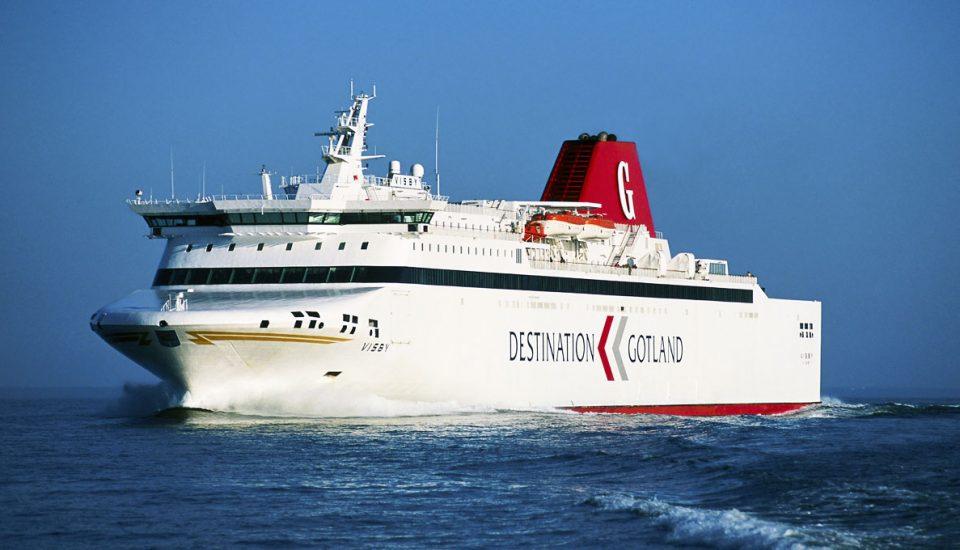 Barco para a Letónia