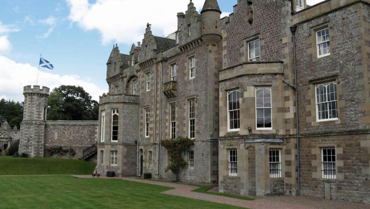 Castelo na Escócia