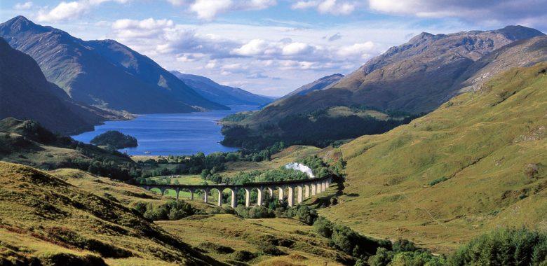 Linha de combio na Escócia