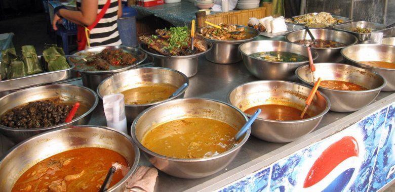 Comida de rua na Ásia