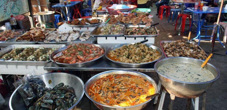 Comida de rua na Tailândia