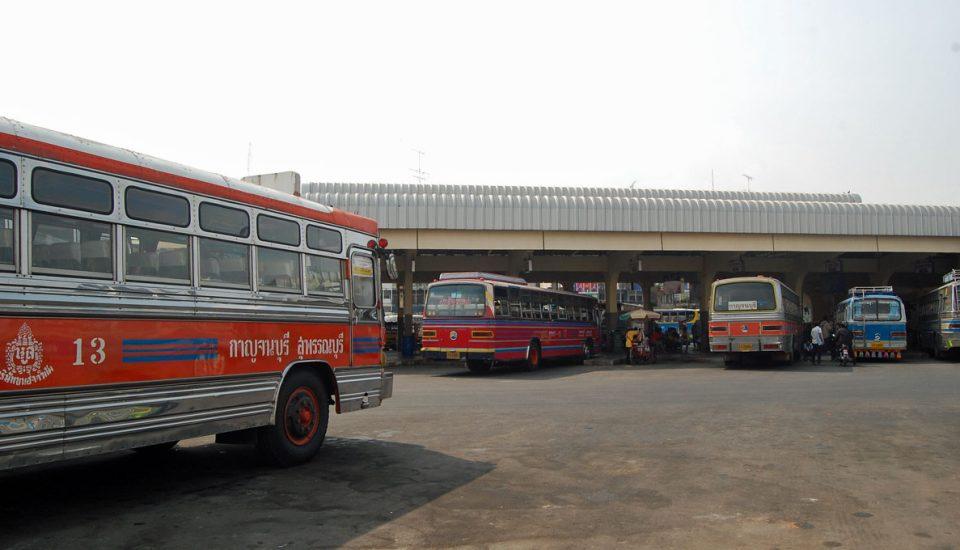 estação de autocarros em Bangkok