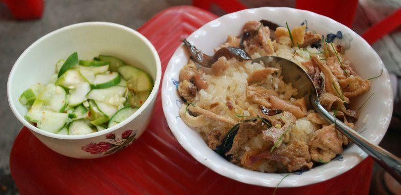 refeição na tailandia