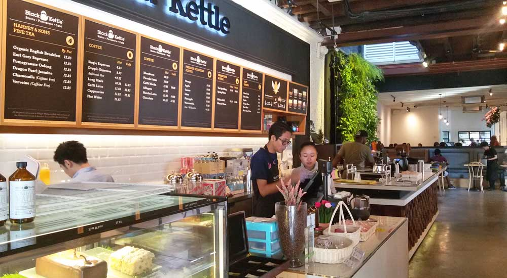 Cafes in George Town