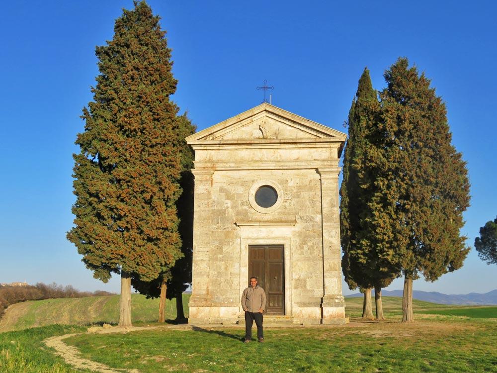 Capela de Vitaleta - Toscana, Itália