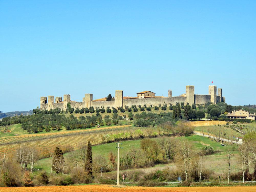 Monteriggione - Toscana, Itália