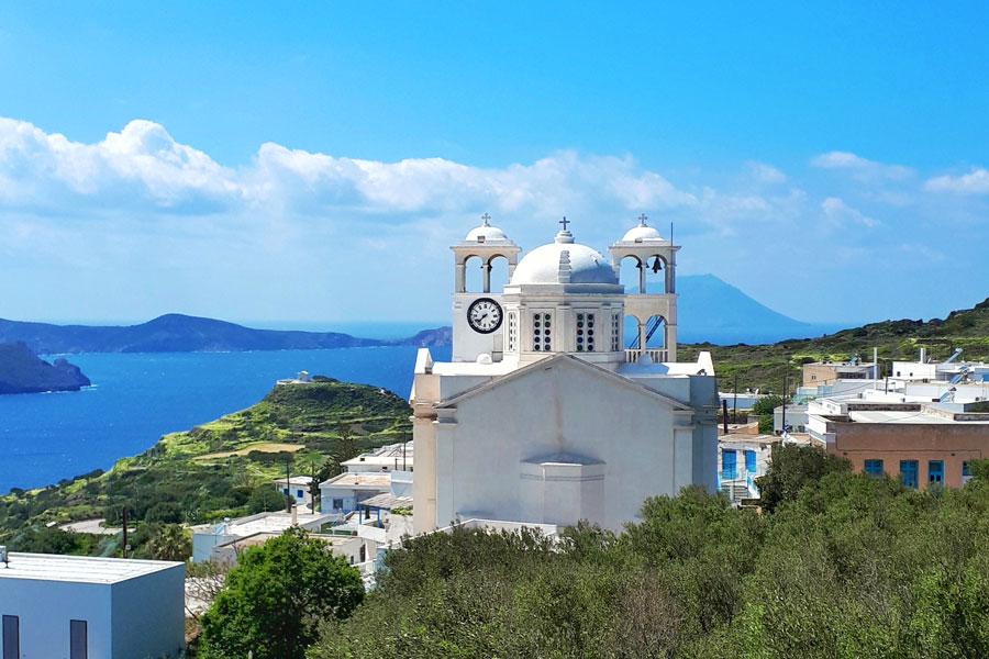 Trypiti - Milos, Grécia