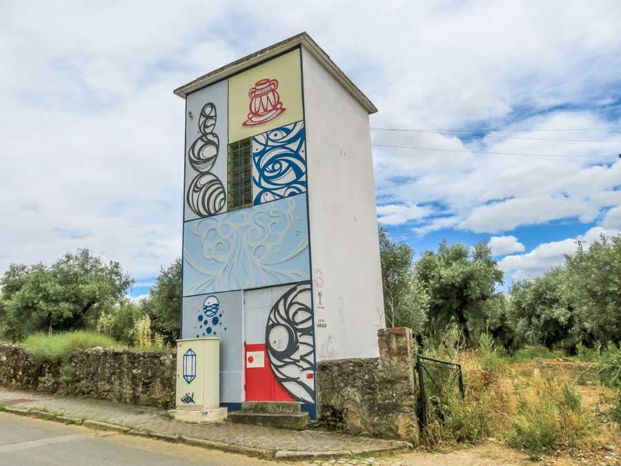 Grafitti em Alfândega da Fé
