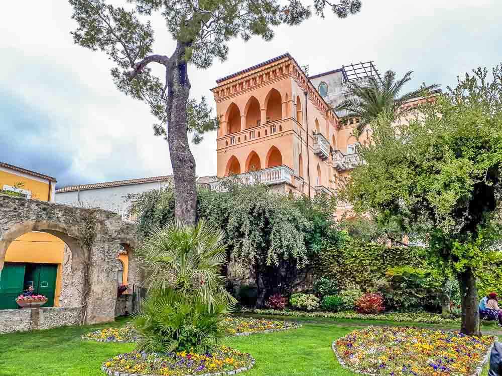 Jardim Principessa di Piemonte, Ravello