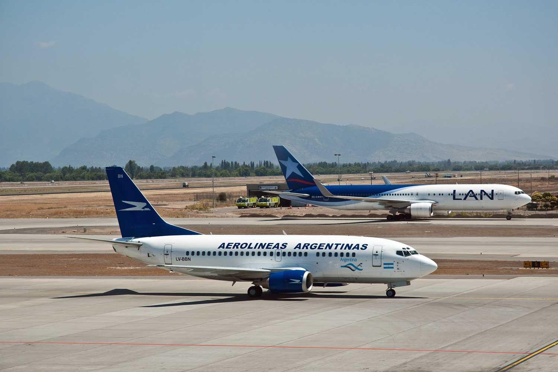 avião na Argentina