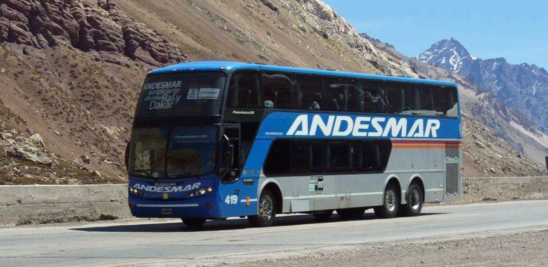 Autocarro na Argentina