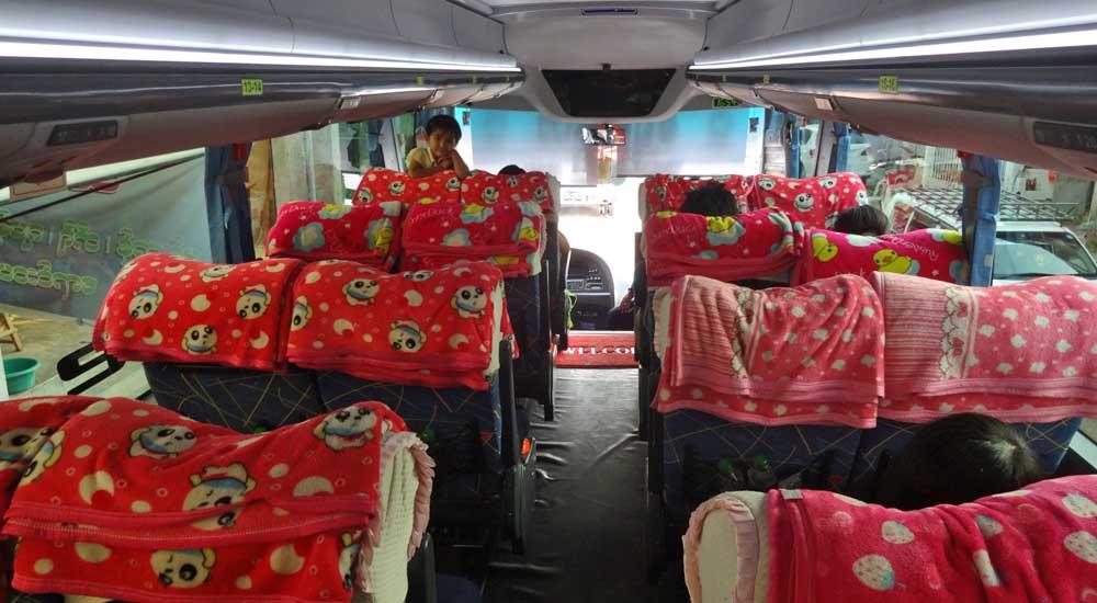 Autocarro Myanmar