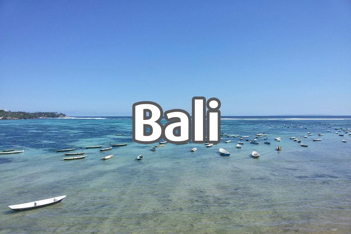 Bali, Blog de viagens