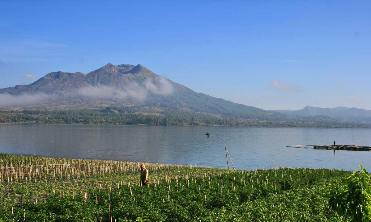 Lago Batur, Bali
