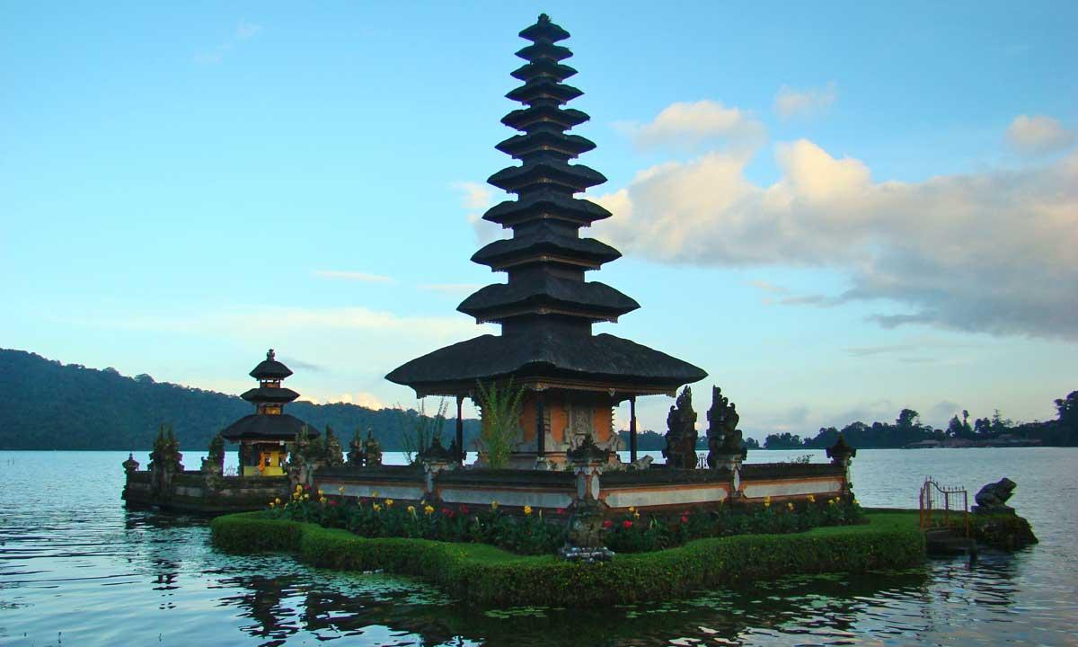 Lago Bratan, Bali