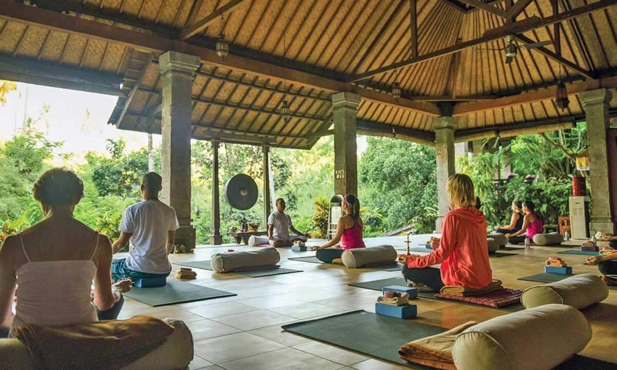 Yoga em Bali