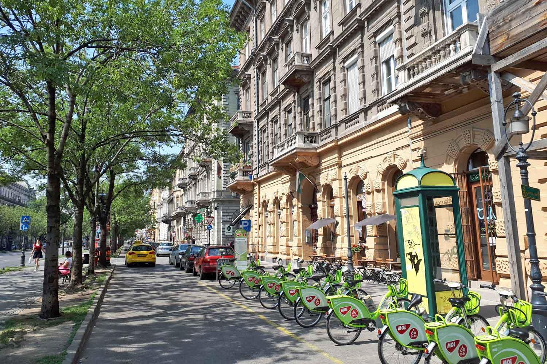 Avenida Andrassy, Budapeste