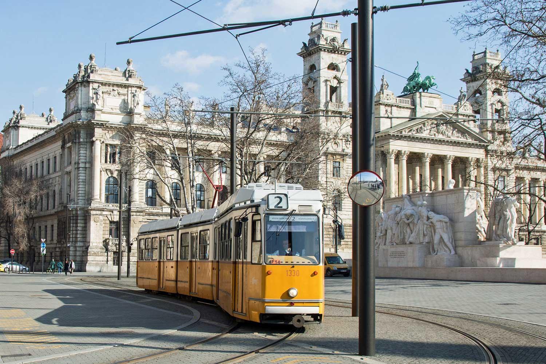 budapeste tram 2