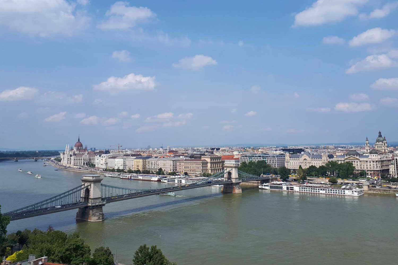 budapeste vista palacio
