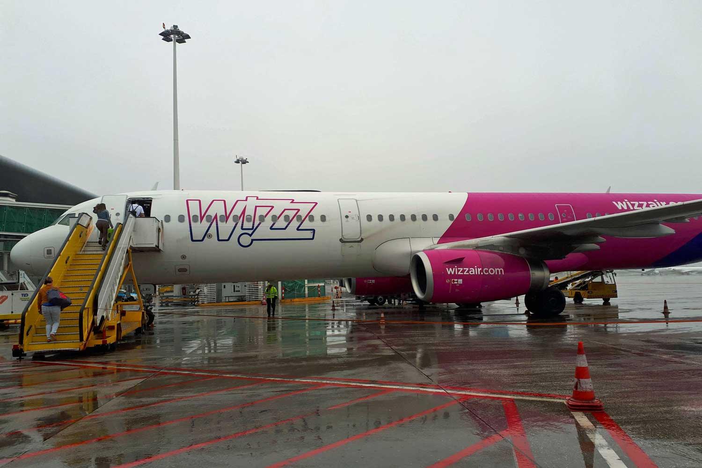 Wizz Air para Budapeste