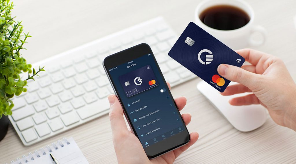 Cartão Curve, cartões bancários