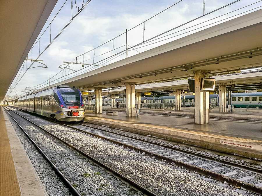 Comboio em Itália