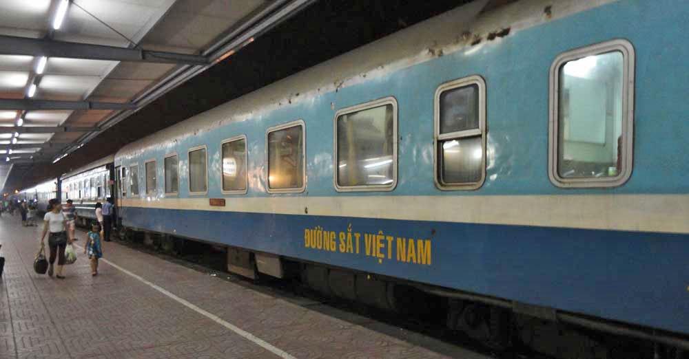 Comboio no Vietnam