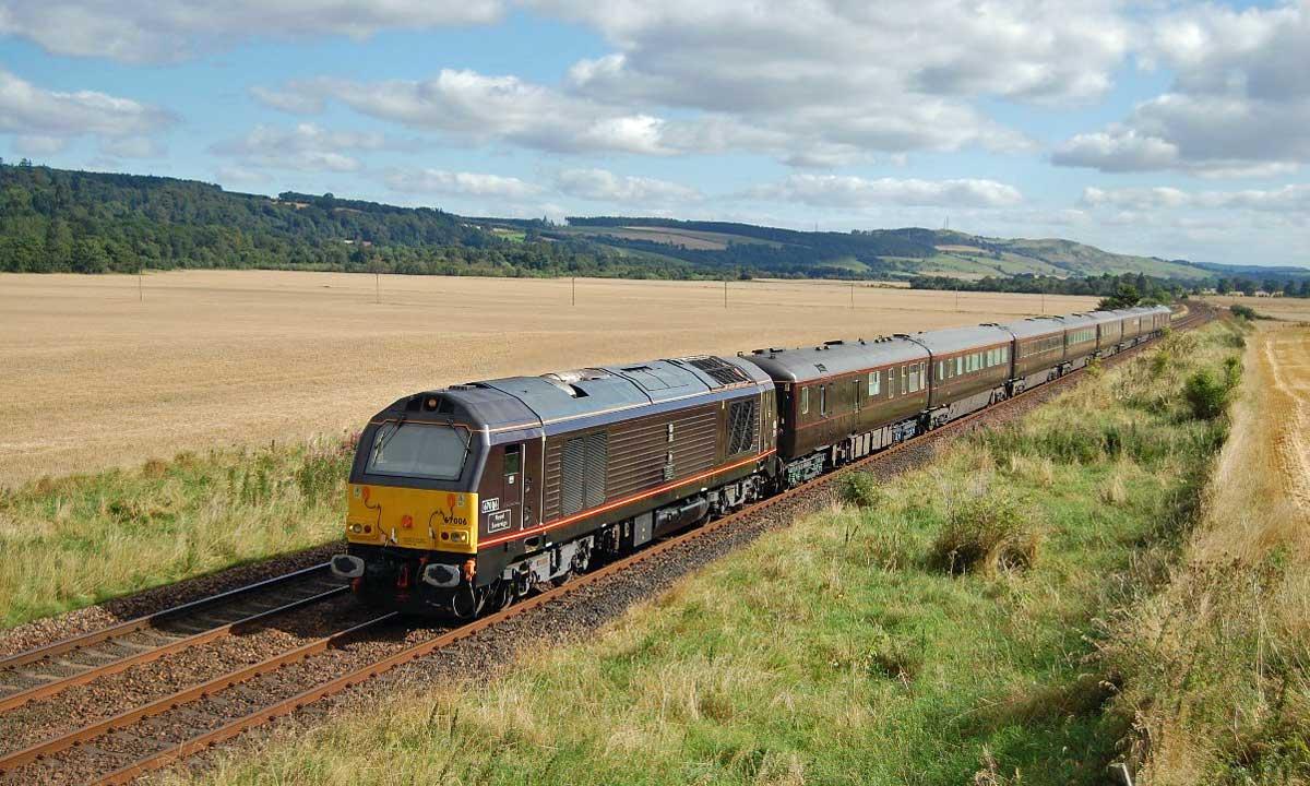Comboios na Escócia