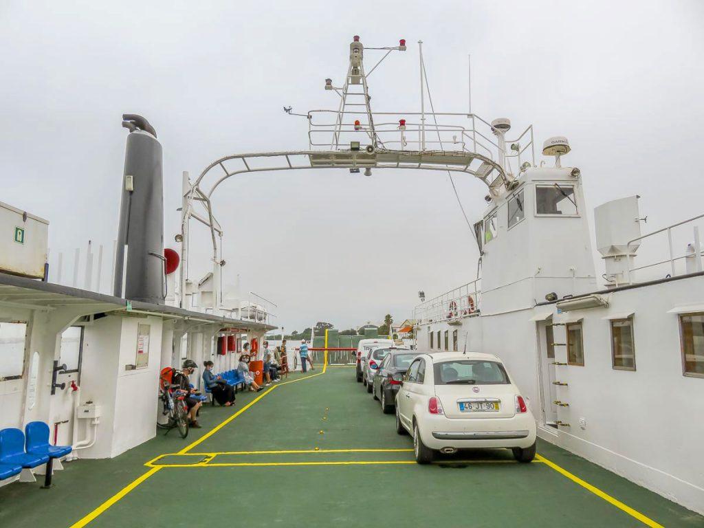 Ferry São Jacinto, Ria de Aveiro