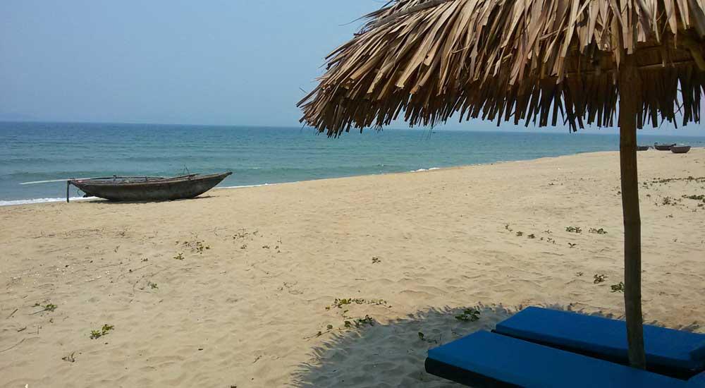 Praia em Hoi An, Vietnam
