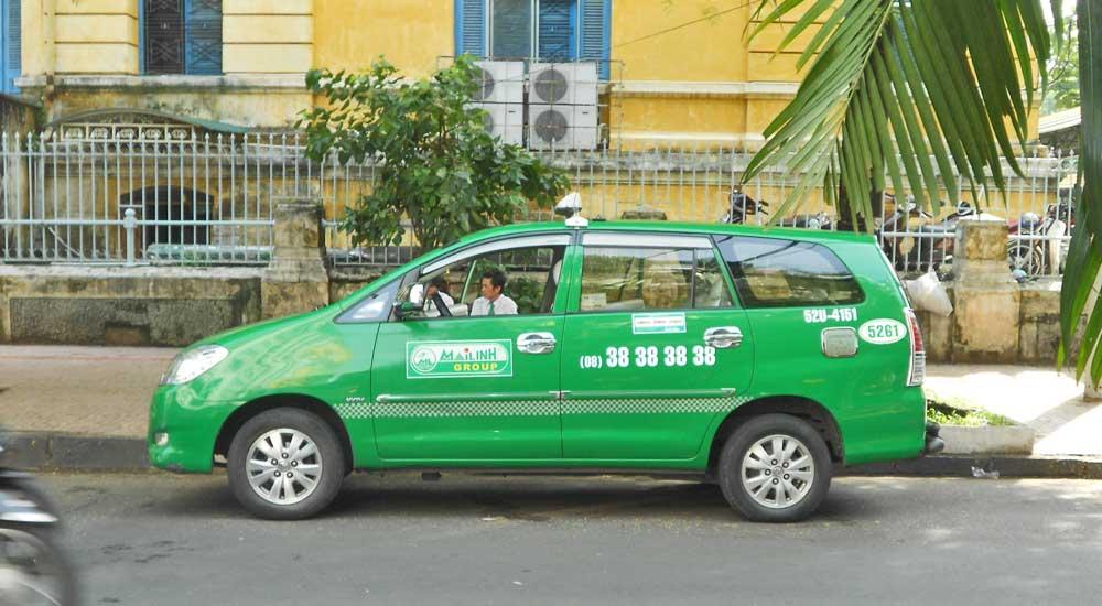 Taxi em Hoi An, Vietnam