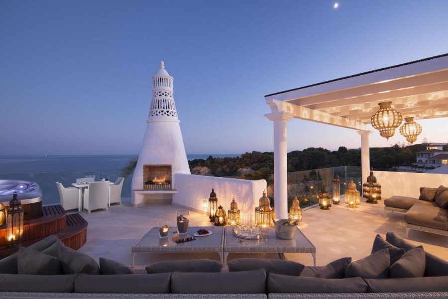 Hoteis luxo Algarve