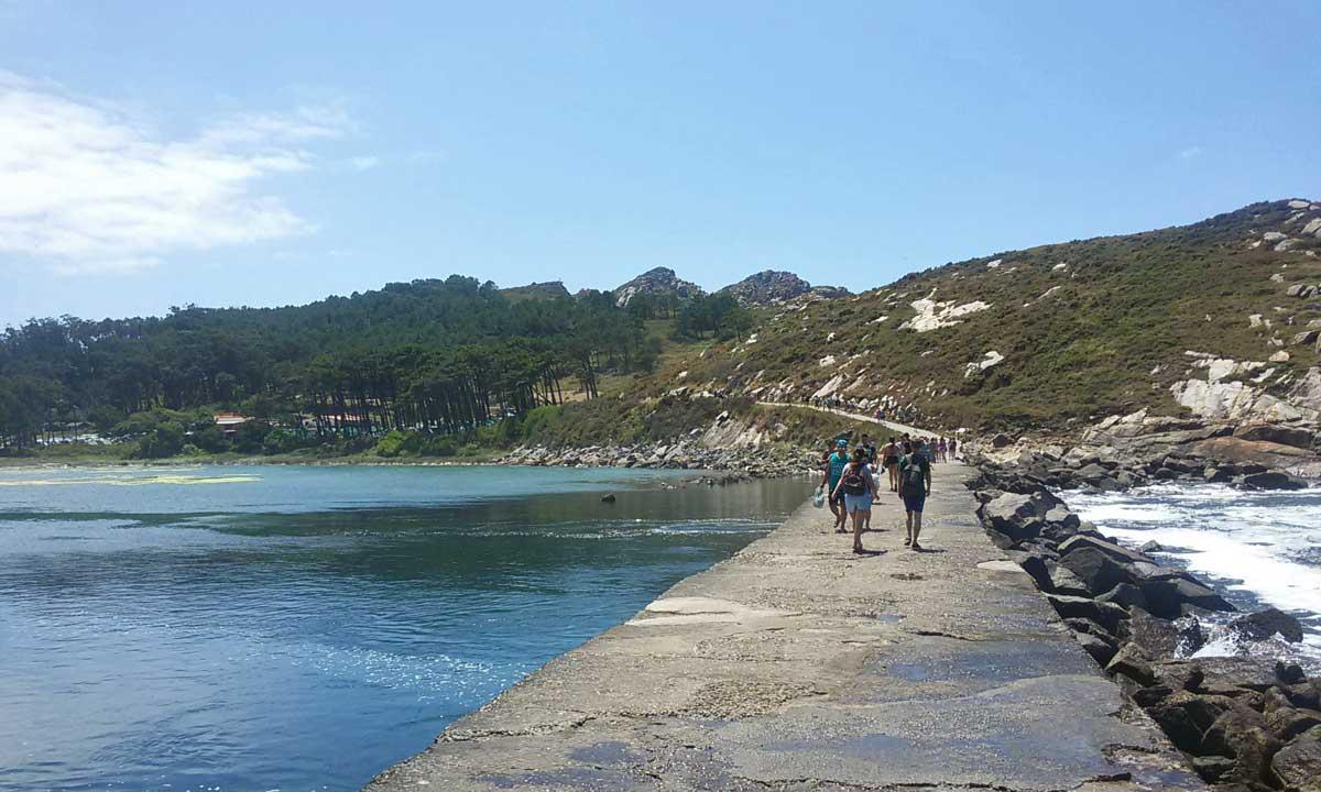 Trilhos pedestres nas Ilhas Cies