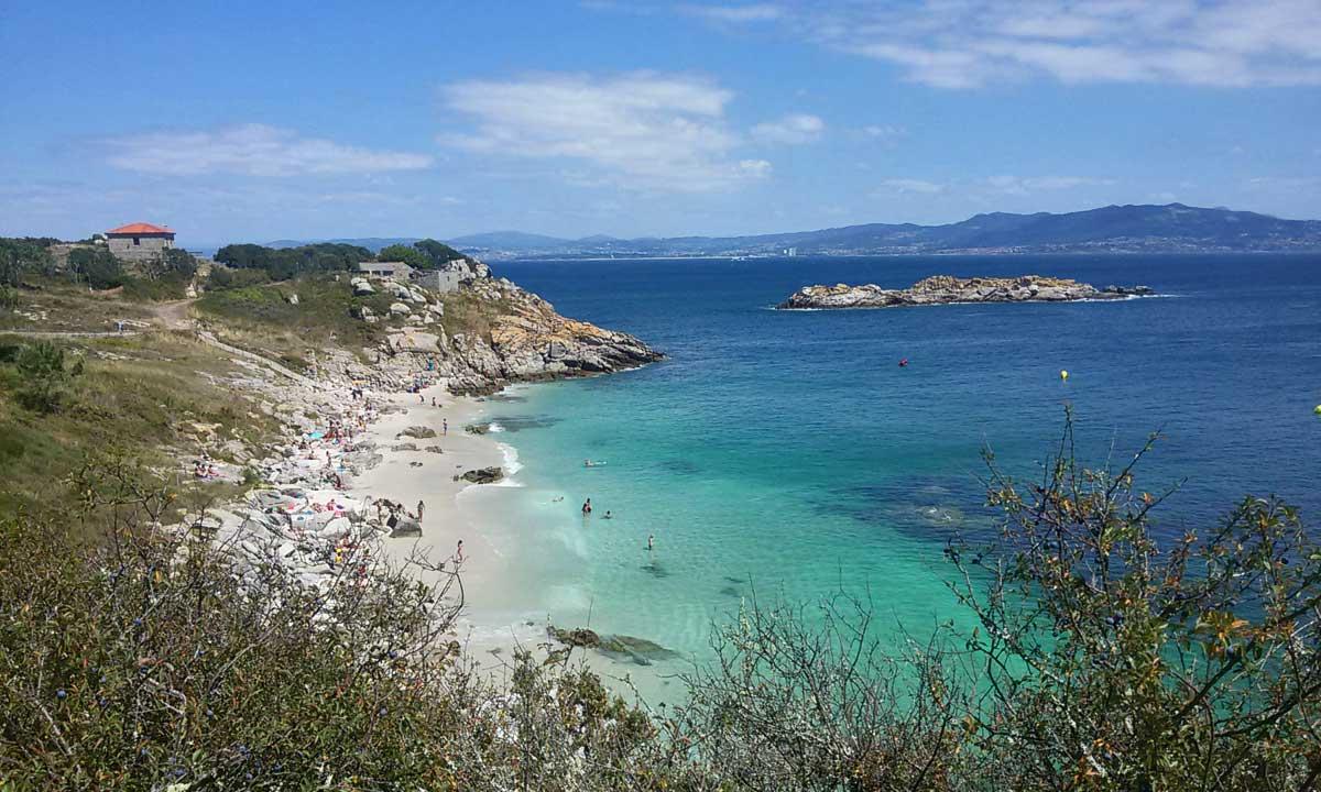 Praia de Figueiras, Ilhas Cies