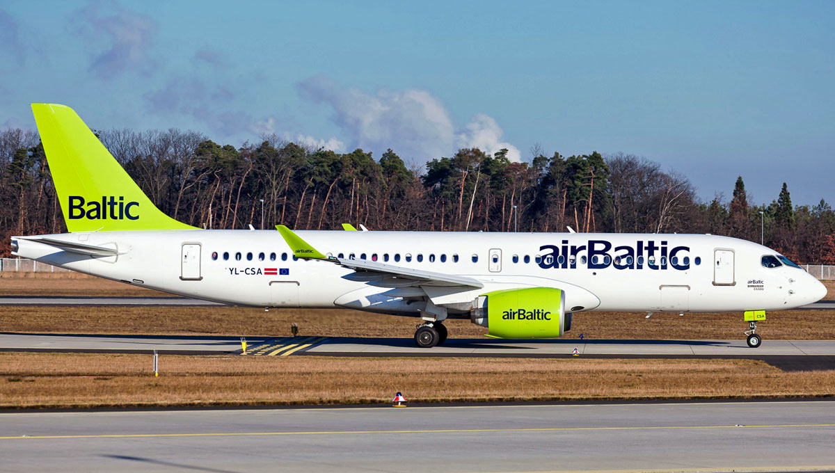Air Baltic, Letónia