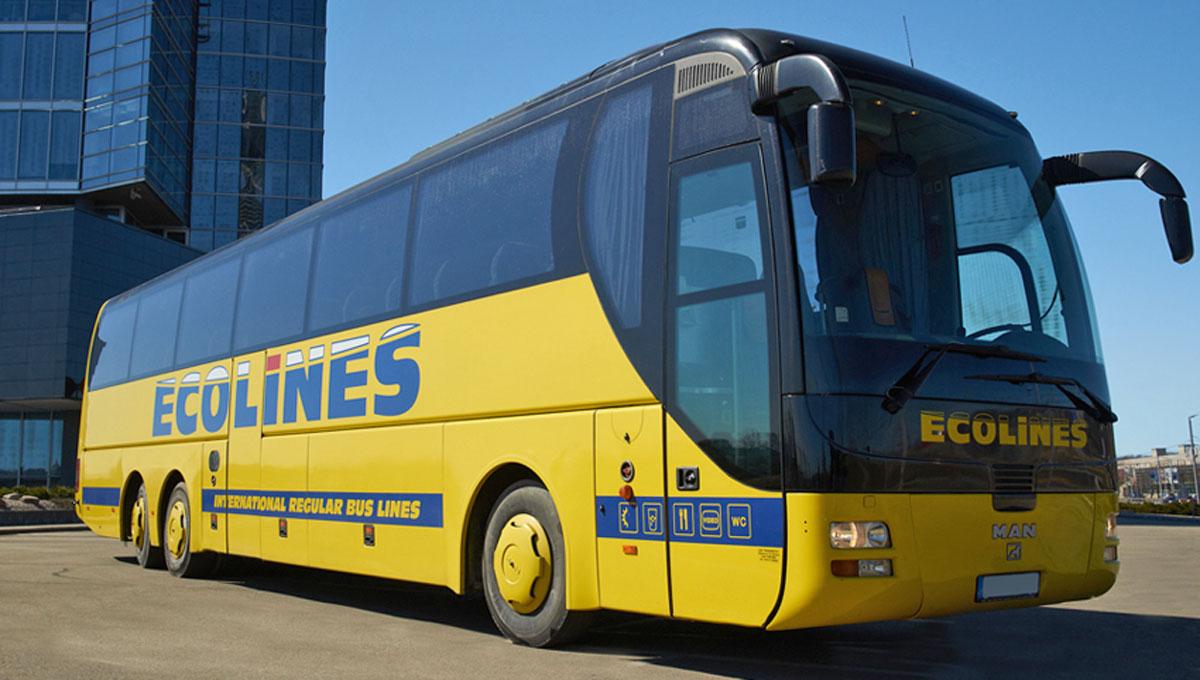 Autocarro na Letónia