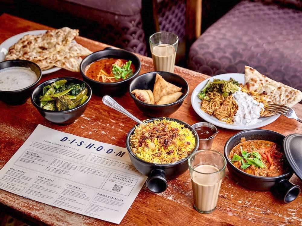 Restaurante indiano, Londres