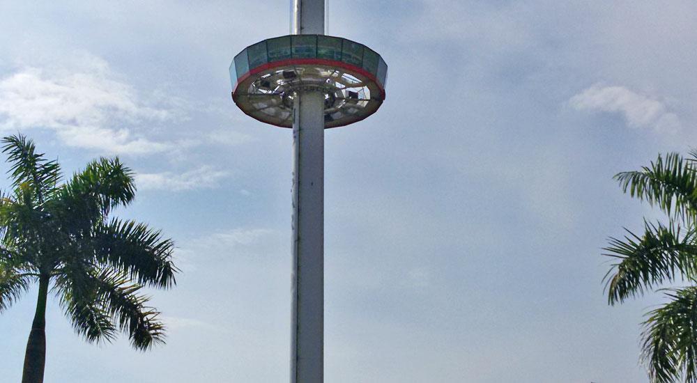 Menara Taming Sari, Malaca
