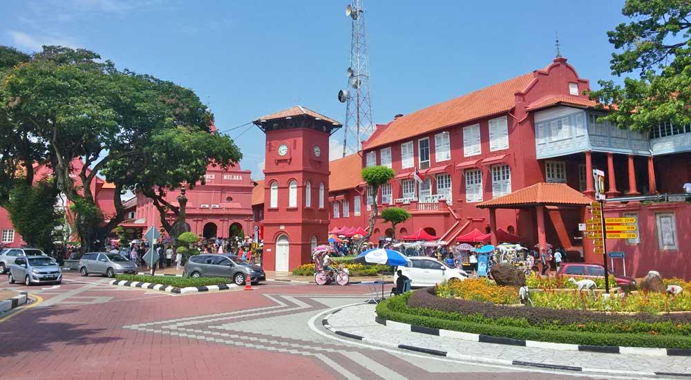Dutch Square, Malaca