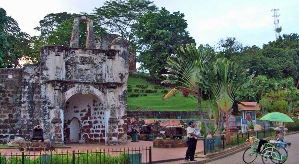 Porta de Santiago, A Famosa, Malaca
