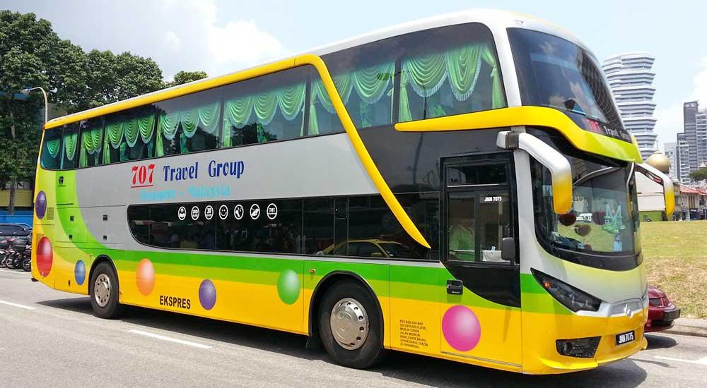 autocarro onibus malaca, malasia
