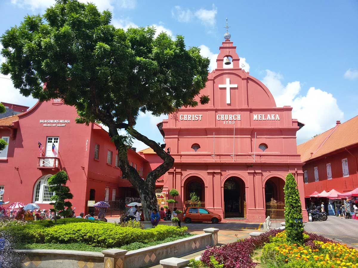 Malaca, Malásia