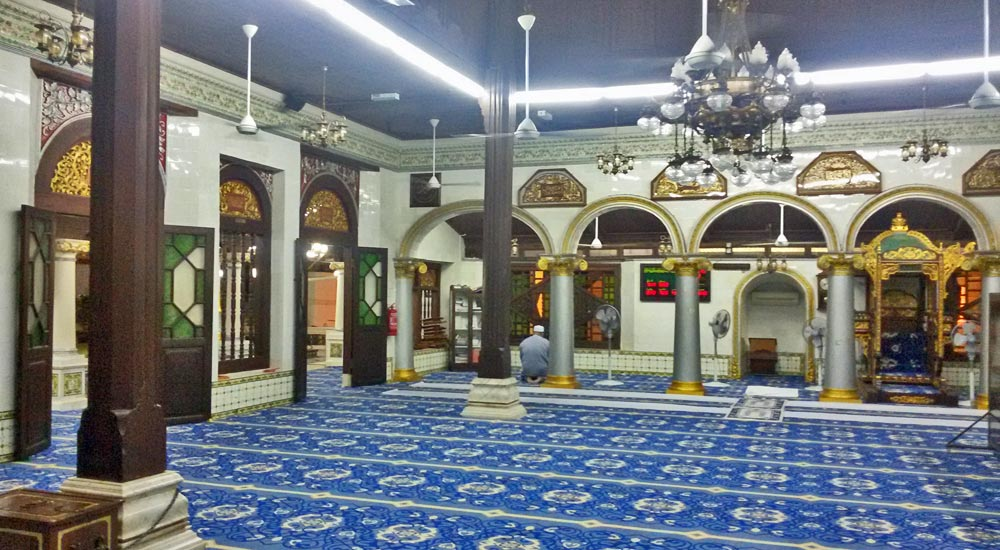 Mesquita Kampung Kling, Malaca