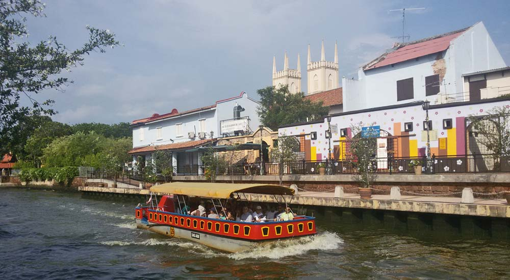 Melaka River Cruise, Malaca
