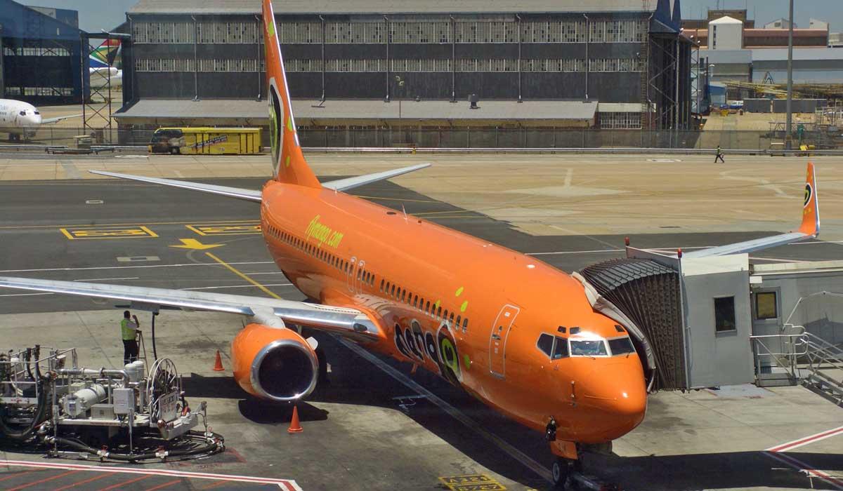 Mango Airlines, África do Sul